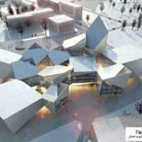 فرهنگ سرا های مدرن - طرح های جدید معماری 9