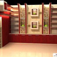 دکوراسیون داخلی فروشگاه کیف و کفش 1