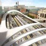 طرح ایستگاه مترو - ایستگاه فطار - مترو بین شهری - ایستگاه راه آهن - عکس معماری - کانسپت - ایده