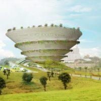 طرح موزه هنرهای معاصر به همراه پلان و نقشه های معماری 1