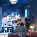 دکوارسیون داخلی اتاق خواب کودک