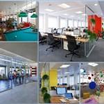 دکواسیون داخلی دفتر شرکت گوگل در میلان