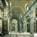 کلیسای سن پیترو - واتیکان - رم - ایتالیا  - معماری ایتالیا - معماری رم - کلیسا