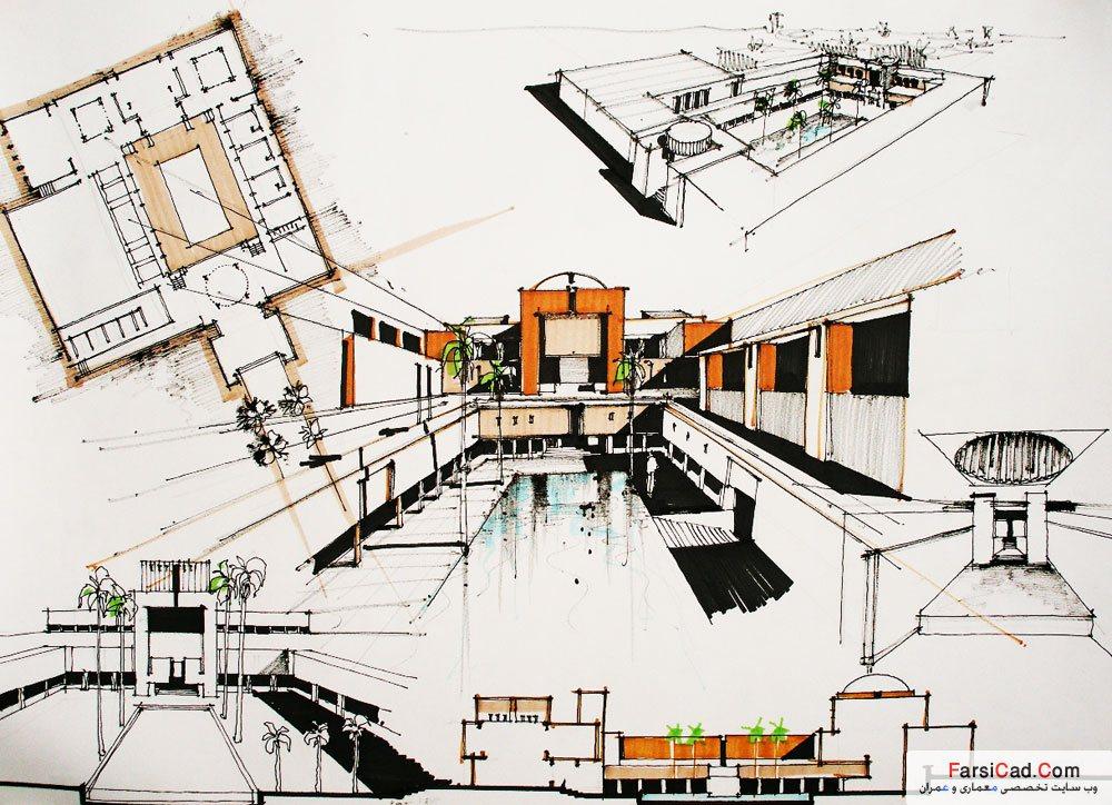 عکس های مفهومی معماری