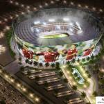 مجموعه کامل عکس استادیوم های خورشیدی قطر برای جام جهانی سال 2022 17