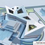 فاز دوم برج میلاد Milad Complex Proposal