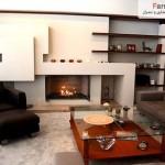 28 ایده فوق العاده زیبای طراحی اتاق نشیمن ، حال و پذیرایی 17