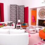 28 ایده فوق العاده زیبای طراحی اتاق نشیمن ، حال و پذیرایی 19