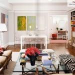 28 ایده فوق العاده زیبای طراحی اتاق نشیمن ، حال و پذیرایی 4