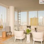 28 ایده فوق العاده زیبای طراحی اتاق نشیمن ، حال و پذیرایی 9