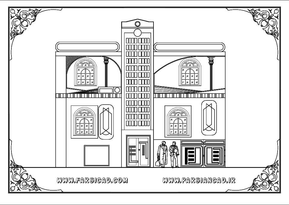 نقشه های معماری ساختمان مسکونی 2 طبقه با ابعاد 13&10 | بزرگترین ...اما برای امروز نقشه های معماری یک ساختمان مسکونی ۲ ...