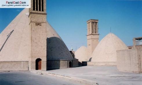 بادگیر، معماری ایرانی ، معماری ، پلان ، سبک معماری ایرانی ، سبک های معماری ایرانی