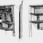 نقشه ، پلان مسکونی ، نقشه مسکونی ، معماری ، دانلود پلان ، سه بعدی ، پرسپکتیو داخلی ، پرسپکتیو خارجی