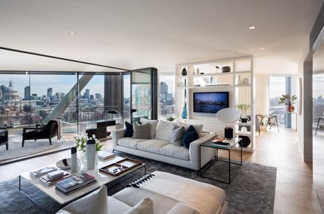 مجتمع مسکونی - طرح 5 - نمونه نقشه مسکونی - آپارتمان - معماری