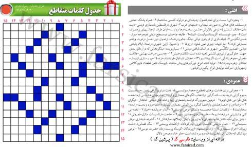 جدول - معماری - عمران - فارسی کد - پرشین کد