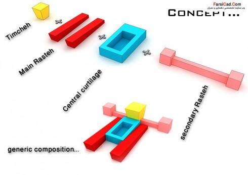 مجتمع تجاری تفریحی - نقشه مجتمع تجاری تفریحی - پلان تجاری - نقشه تجاری - معماری
