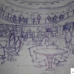 اسکیس و راندو - کروکی - شیت بندی - اسکیس با دست آزاد - معماری - راندو با ماژیک