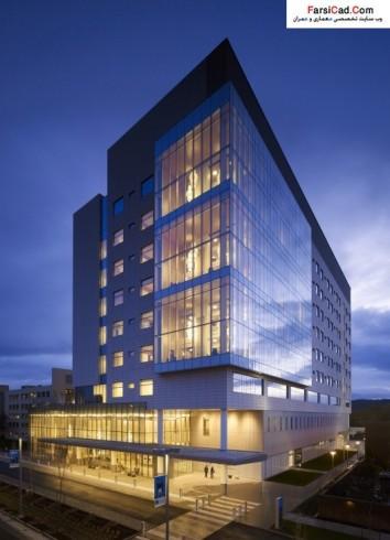نقشه بیمارستان - پلان بیمارستان - عکس بیمارستان - معماری - سه بعدی بیمارستان