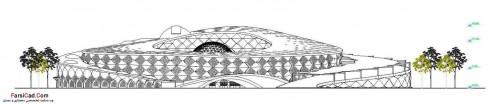 پارک موزه نجوم - نقشه موزه - نقشه پارک - سه بعدی موزه - پلان موزه - پلان پارک