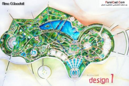 پارک - طرح پارک - نقشه پارک - پارک آبی - سایت پلان - نقشه و سایت پلان پارک - نقشه پارک آبی - سایت پارک - پلان پارک