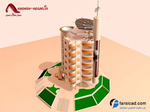 سه بعدی - آپارتمان - ساختمان سه بعدی - پلان سه بعدی - نقشه سه بعدی - ساختمان سه بعدی - عکس سه بعدی ساختمان - نمای سه بعدی - نمای ساختمان - نما
