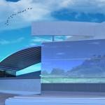 سه بعدی - سه بعدی موزه - طراحی داخلی موزه - نمای موزه - کانسپت برای موزه - کانسپت برای فرهنگ سرا - پلان موزه - نقشه موزه