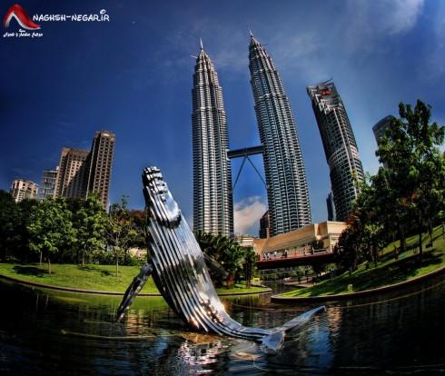 برج پتروناس - برج های دوقلوی پتروناس - برج های پتروناس مالزی - برح - پلان برج - نقشه برج - معماری - Petronas Twin Towers - Malaysia