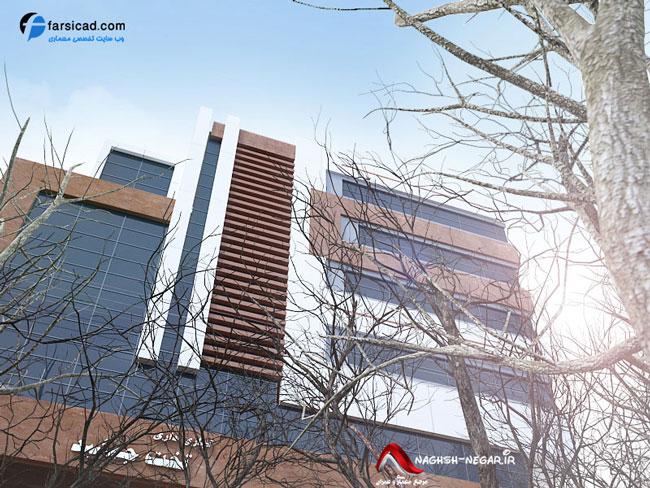 نما، نمای ساختمان، طراحی نمای ساختمان