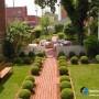 مجموعه 101 عکس محوطه سازی ویلایی و مسکونی ( حیاط ) - طراحی محوطه آلاچیق ، استخر ، سنگ فرش و ... 6