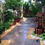 مجموعه 101 عکس محوطه سازی ویلایی و مسکونی ( حیاط ) - طراحی محوطه آلاچیق ، استخر ، سنگ فرش و ... 7