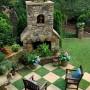 مجموعه 101 عکس محوطه سازی ویلایی و مسکونی ( حیاط ) - طراحی محوطه آلاچیق ، استخر ، سنگ فرش و ... 30