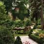 مجموعه 101 عکس محوطه سازی ویلایی و مسکونی ( حیاط ) - طراحی محوطه آلاچیق ، استخر ، سنگ فرش و ... 36