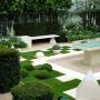 مجموعه 101 عکس محوطه سازی ویلایی و مسکونی ( حیاط ) - طراحی محوطه آلاچیق ، استخر ، سنگ فرش و ... 39