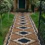 مجموعه 101 عکس محوطه سازی ویلایی و مسکونی ( حیاط ) - طراحی محوطه آلاچیق ، استخر ، سنگ فرش و ... 42