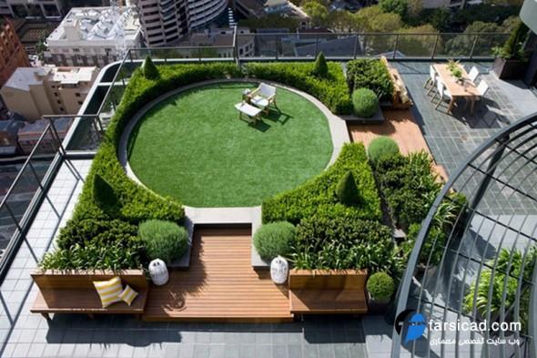 محوطه سازی ، طراحی محوطه ، حیاط