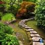 مجموعه 101 عکس محوطه سازی ویلایی و مسکونی ( حیاط ) - طراحی محوطه آلاچیق ، استخر ، سنگ فرش و ... 82