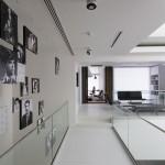 ساختمانی با نما و اتاق های متحرک در تهران ( خانه شریفی ها ) دانلود نقشه های معماری و تحلیل 5