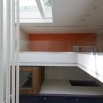 ساختمانی با نما و اتاق های متحرک در تهران ( خانه شریفی ها ) دانلود نقشه های معماری و تحلیل 11