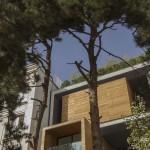 ساختمانی با نما و اتاق های متحرک در تهران ( خانه شریفی ها ) دانلود نقشه های معماری و تحلیل 12