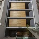 ساختمانی با نما و اتاق های متحرک در تهران ( خانه شریفی ها ) دانلود نقشه های معماری و تحلیل 14