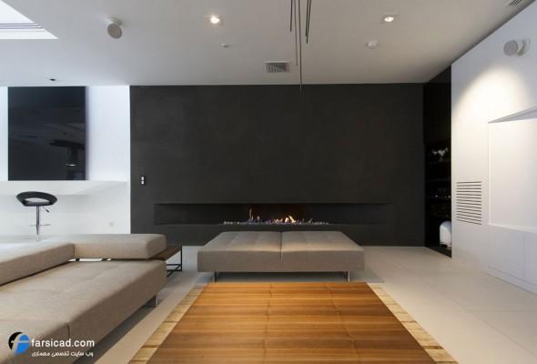 دکوراسیون و طراحی داخلی مدرن - خانه ای برای آینده