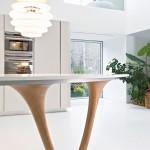 جدیدترین طرح های کابینت آشپزخانه ( ام دی اف و های گلاس ) - مدل کابینت MDF high Gloss 6