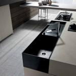 جدیدترین طرح های کابینت آشپزخانه ( ام دی اف و های گلاس ) - مدل کابینت MDF high Gloss 11