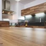 جدیدترین طرح های کابینت آشپزخانه ( ام دی اف و های گلاس ) - مدل کابینت MDF high Gloss 18