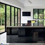 جدیدترین طرح های کابینت آشپزخانه ( ام دی اف و های گلاس ) - مدل کابینت MDF high Gloss 21