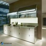 جدیدترین طرح های کابینت آشپزخانه ( ام دی اف و های گلاس ) - مدل کابینت MDF high Gloss 23