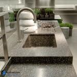 جدیدترین طرح های کابینت آشپزخانه ( ام دی اف و های گلاس ) - مدل کابینت MDF high Gloss 26