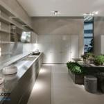 جدیدترین طرح های کابینت آشپزخانه ( ام دی اف و های گلاس ) - مدل کابینت MDF high Gloss 27
