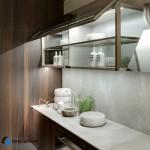 جدیدترین طرح های کابینت آشپزخانه ( ام دی اف و های گلاس ) - مدل کابینت MDF high Gloss 28
