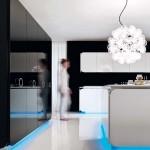 جدیدترین طرح های کابینت آشپزخانه ( ام دی اف و های گلاس ) - مدل کابینت MDF high Gloss 31